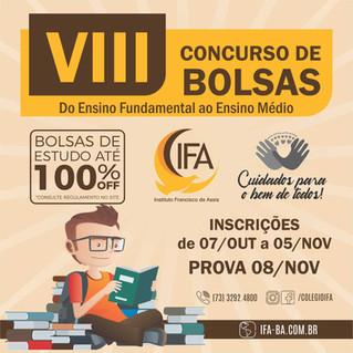 VIII Concurso de Bolsas - IFA 2020