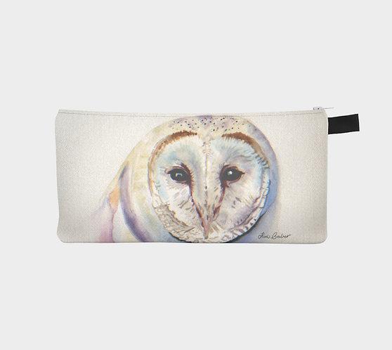Snowy Owl Pencil Case