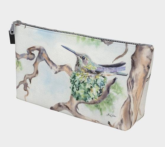 Hummingbird Nest Make Up Bag