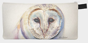 Snowy Owl purse