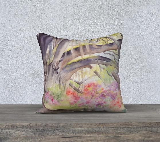 Elaina's Woodland Pillow Case
