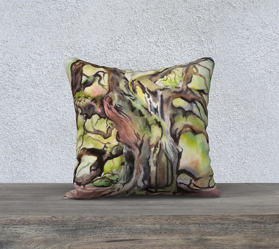 Angel Oak Charleston Pillow Case