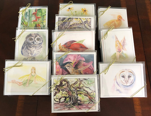Greeting Card pack of 8