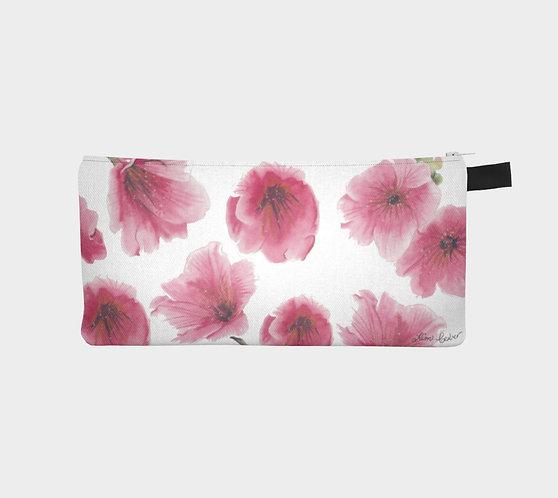 Pink Blossums Pencil Case