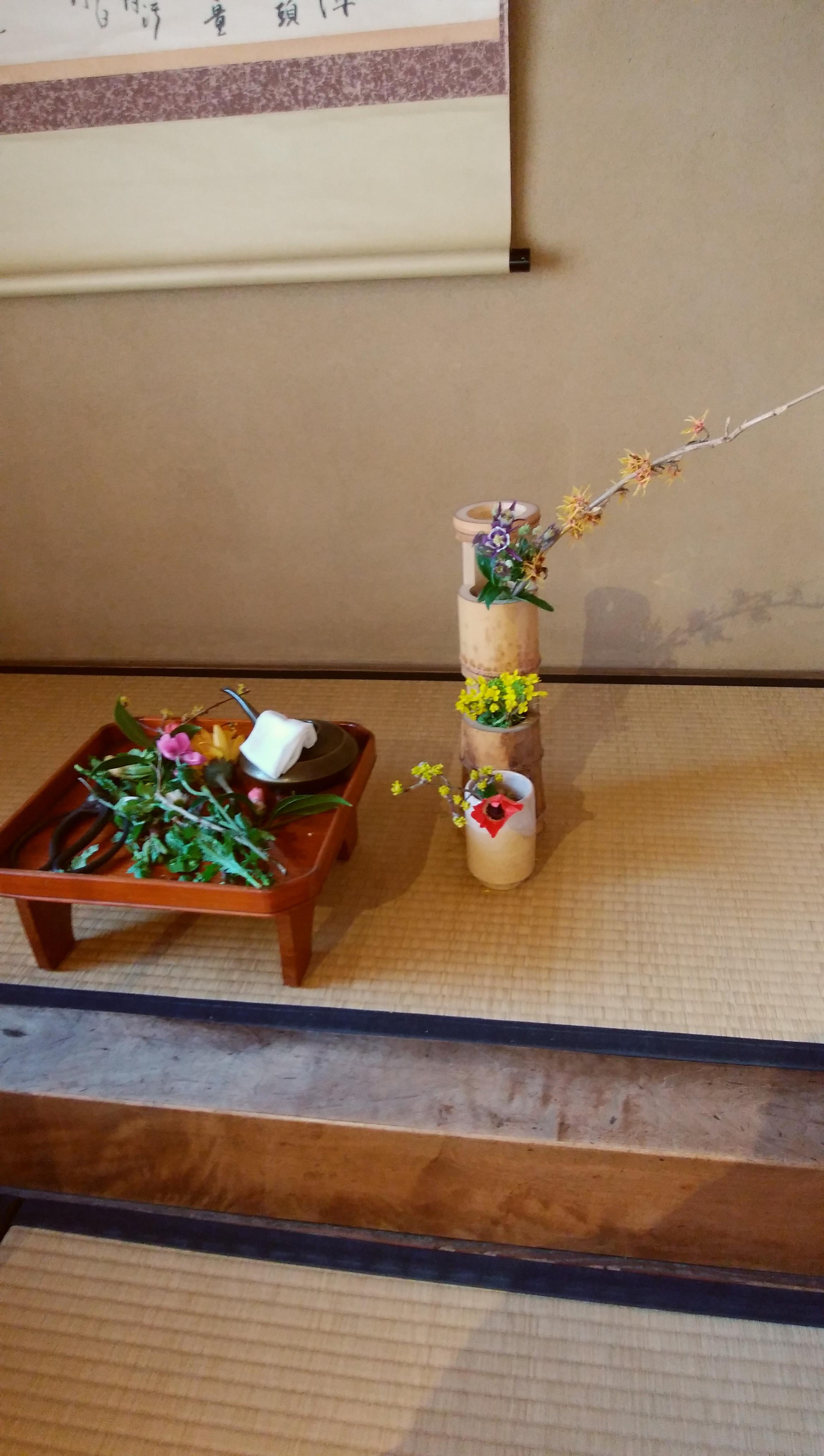 七事式(且座、花月、廻り花、廻り炭、数茶、茶かぶき、一二三)