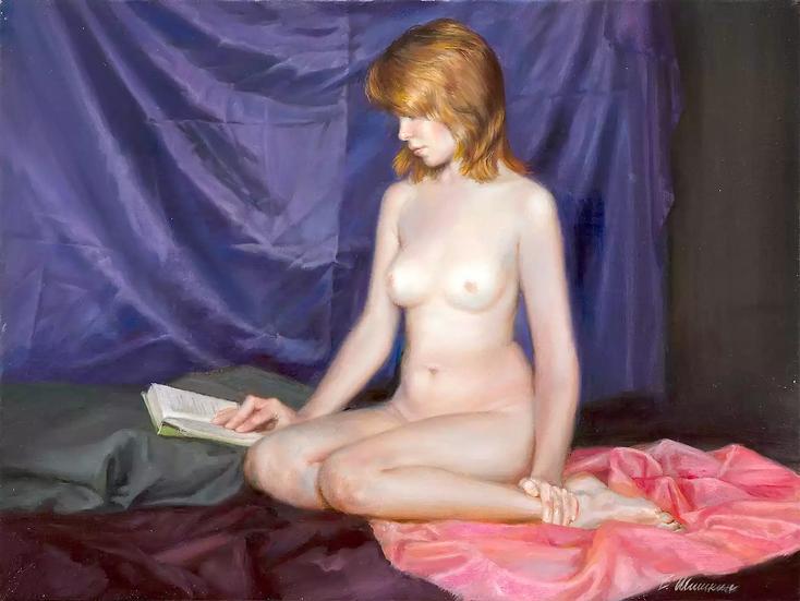 Vrouwelijk naakt -  Valery Shishkin