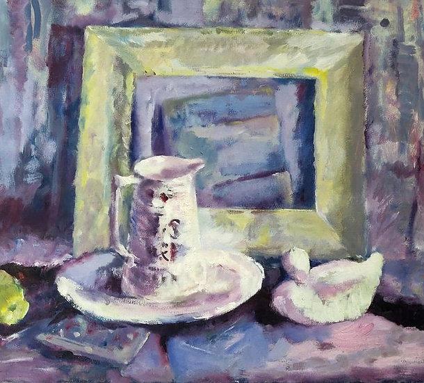 Impressionistisch stilleven - Anneke Kimmel (1932-2018)