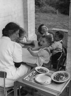 Children with Gertrud Dann