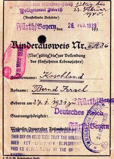 Travel permit for journey to UK