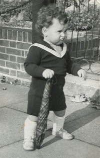 Andrew as a toddler