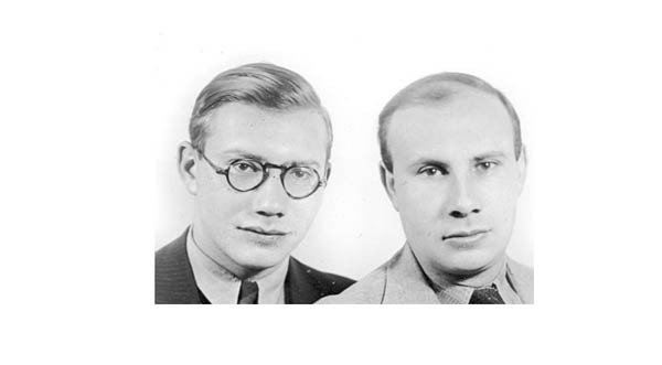 Heinz with brother Fritz (Frank)