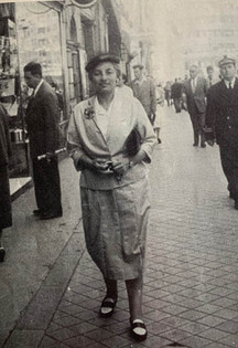 Mother in London, 1947
