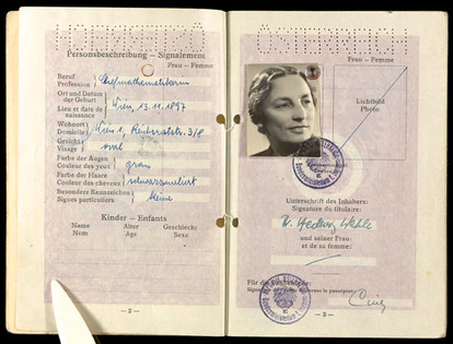 Mother's identification papers