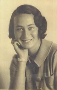 Rudi's cousin, Evi was murdered in Auschwitz. Photo circa 1942