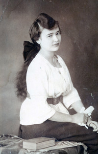 Mother in 1918