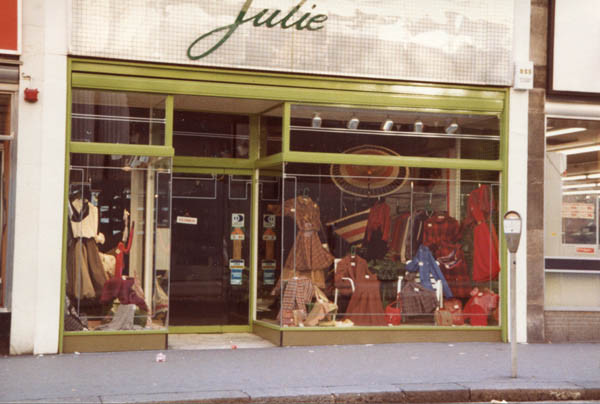 First boutique 'Julie' in Queensway