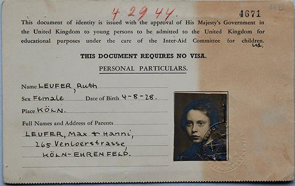 Ruth's Identity card
