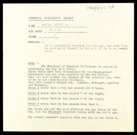 PE report (1942)
