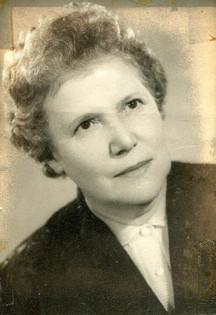 Tom's mother Budapest 1960