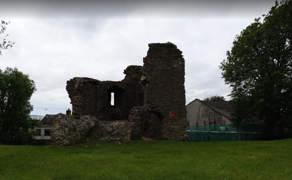 Ruined Roman fort, Loughor