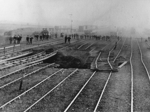 Lindal-in-Furness Railway Station, 1892