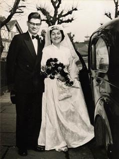 Bernd and Ruth's wedding day