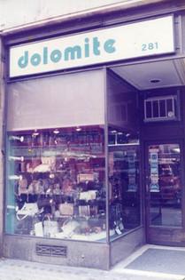 First shop on Regent Street, 1965