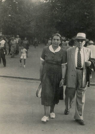 Maternal grandparents, August 1950