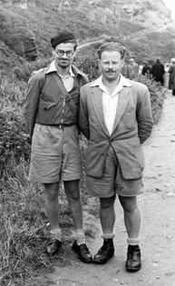 Hitchhiking across England with Henry Fisher, 1952