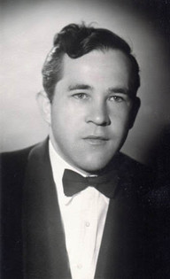 Peter at his engagement party in July 1958