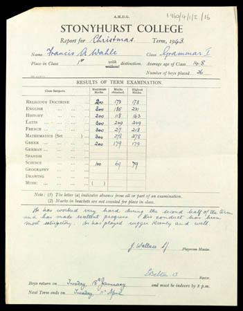 School report (1943)