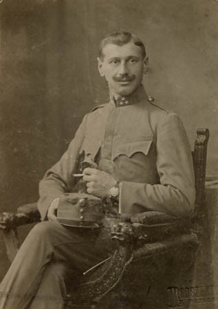 Father in the Austro-Hungarian army in WW1