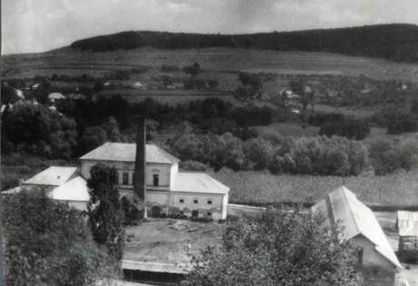 The Brunner estate in Zsombor