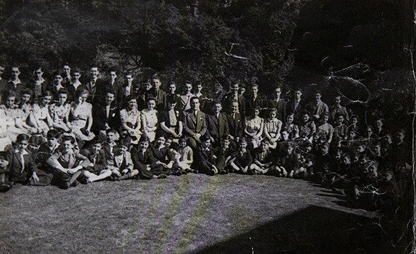 Children of the Northern Grove House Hostel in Leeds 1940