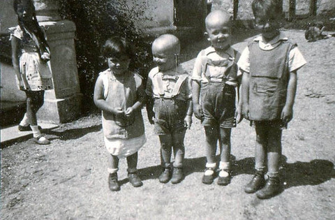(left to right) Anna, Ilonka, Mihály, Peter and Imre
