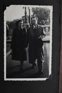 Zyga and Berta in London