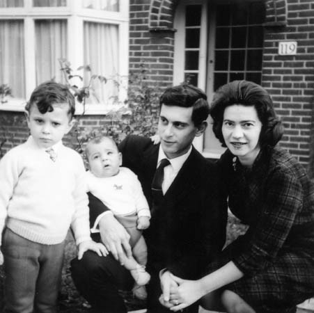 With family, 1966