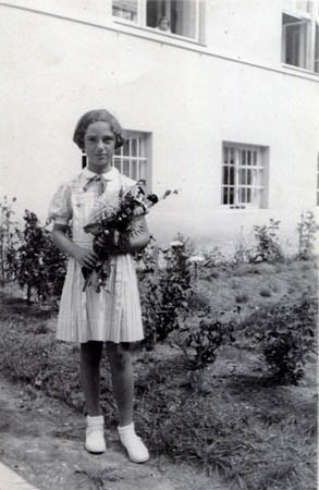Margarete in Maribor, Sept 1935