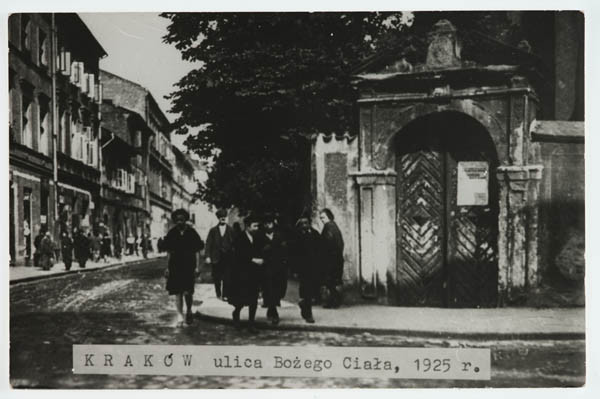 Krakow Jewish quarter, from the collection of POLIN (Museum of the History of Polish Jews)