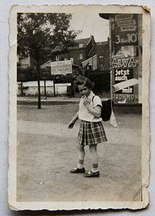 First day of school aged 5