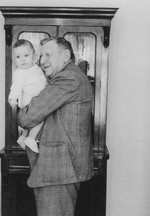 Father with Michael, 1963