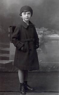 Margarete before starting school