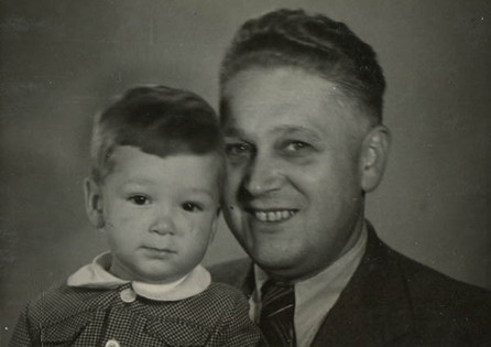 Ivan with his father
