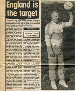 Newspaper cutting from 1987