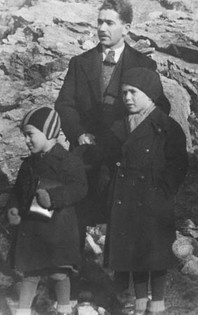 Father, Kurt and ES c.1936