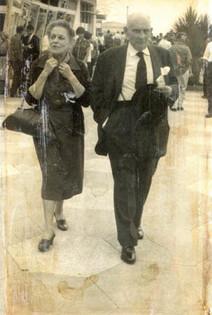 Katinka's parents circa 1960s, in the UK