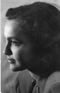 Katinka as a teenager