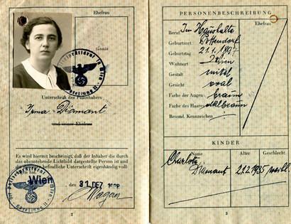 Mother's passport