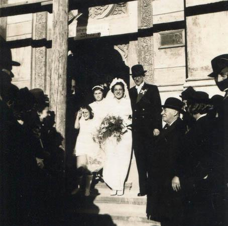 Parents' wedding