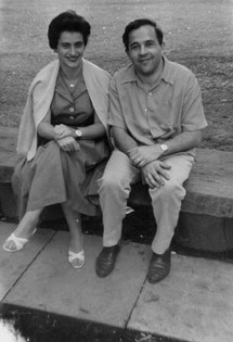 With Vera in 1961